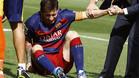 La última lesión de Messi fue ante la UD Las Palmas