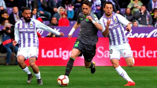 Valladolid y Real Sociedad empatan con polémica