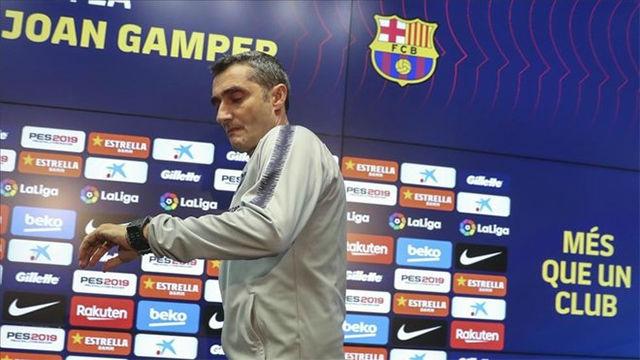 Valverde habló sobre el estilo del Barça