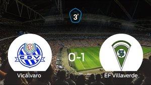 El Vicálvaro cae frente al Villaverde (0-1)