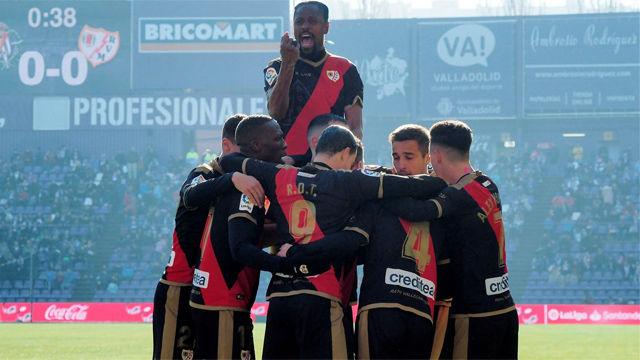 Victoria del Rayo ante el Valladolid para empezar bien el año