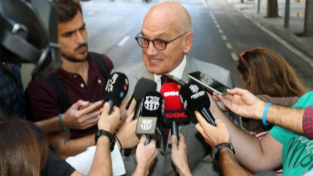 Vilarrubí habló hace unas semanas sobre la posible independencia de Catalunya
