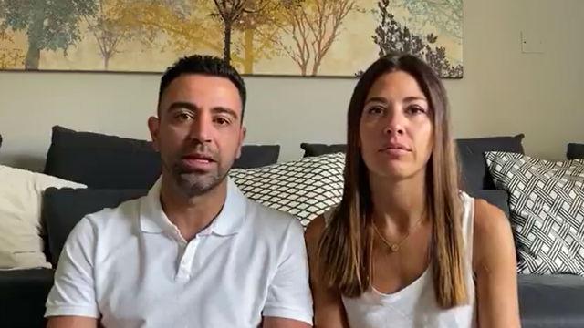 Xavi y su mujer donan un millón de euros al Hospital Clínic para la lucha contra el Coronavirus