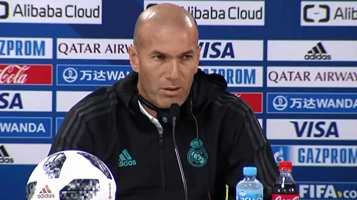 Zidane: Pensamos únicamente en el Mundialito y no en la Liga