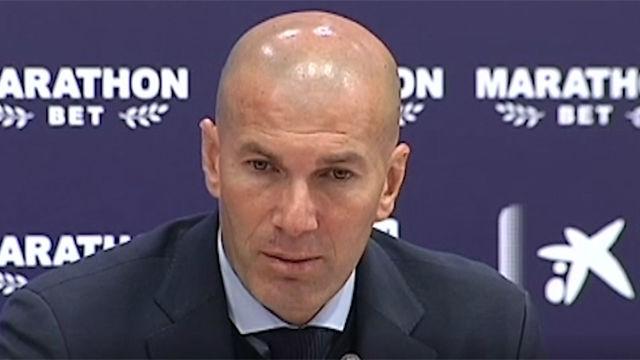 Zidane responde sobre la sequía goleadora de Benzema