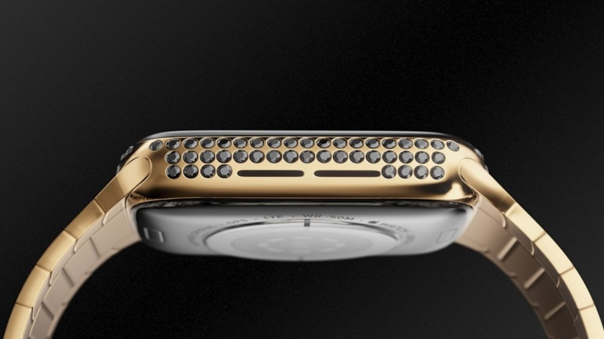 Caviar presents its Apple Watch Series 4 for a price of $ 43,850 1