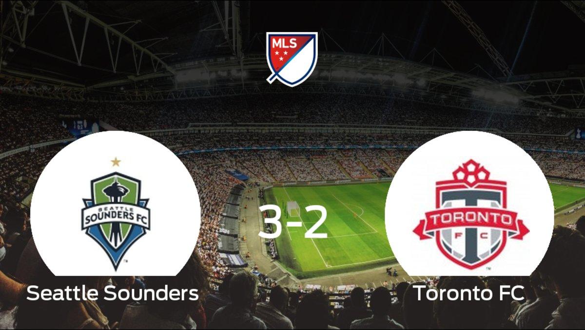 Seattle Sounders 3-2 Toronto FC: El Toronto FC cayo derrotado frente al Seattle So