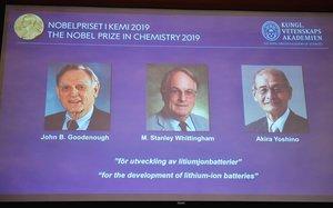 Nobel de Química 2019 para el desarrollo de las baterías de ion-litio