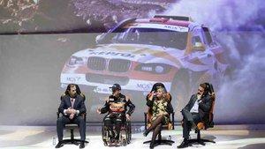 Isidre Esteve presentó su nuevo equipo para el Rally Dakar 2020