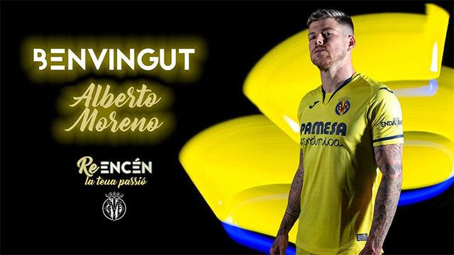 Alberto Moreno, nuevo jugador del Villarreal