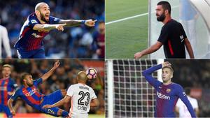 Aleix Vidal, ARda Turan, Rafinah y Deulofeu están en el mercado