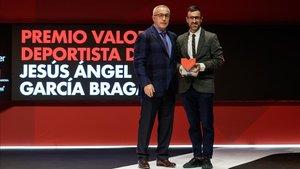 Alejandro Blanco alabó a Jesús García Bragado