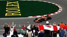Alonso apenas ha podido rodar en la primera jornada de entrenamientos
