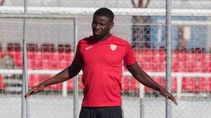 Amadou vuelve a la convocatoria del Sevilla