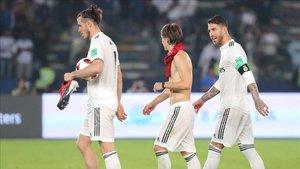 Bale, Modric y Sergio Ramos superan la barrera de los 30 años