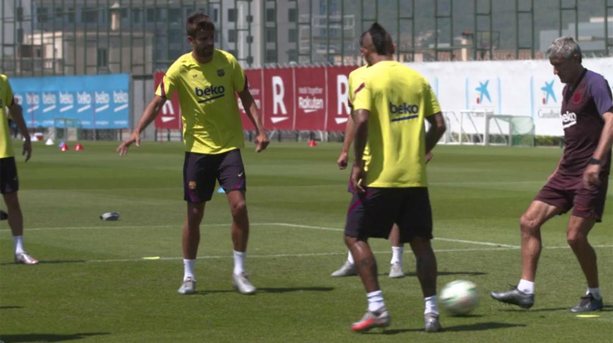 El Barça empieza a preparar el derbi