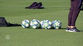El Barça se entrena en una semana intensa para defender liderato en Europa y España