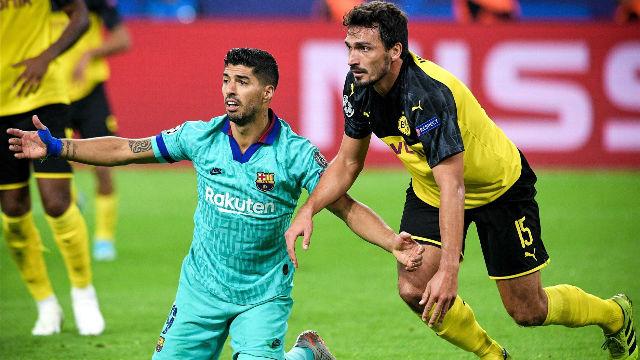 El Barça sobrevivió en Dortmund: el video del empate blaugrana