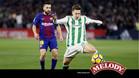 El Barça tuvo una actuación muy destacada en el Villamarín