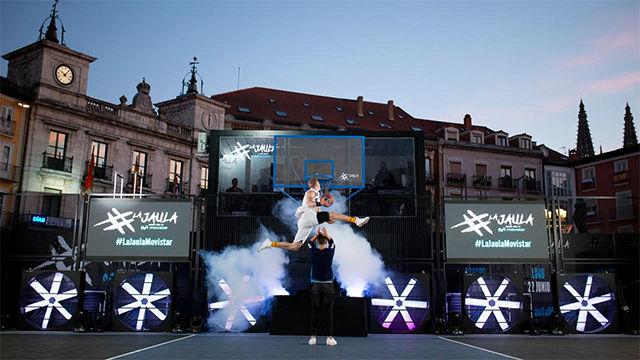Burgos vibra con el espectacular show de La Jaula Movistar
