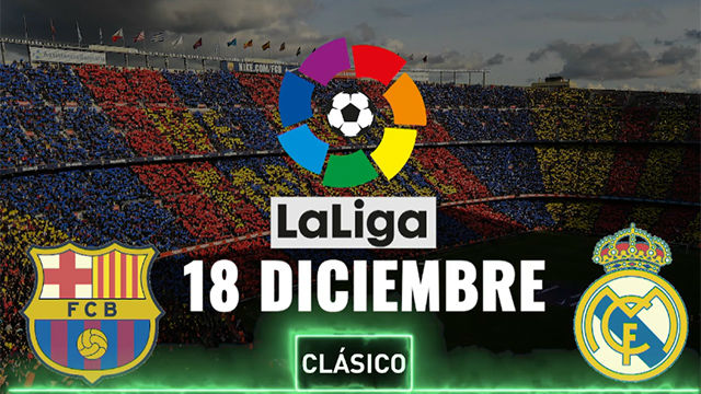 Postponed Clasico to be played on December 18