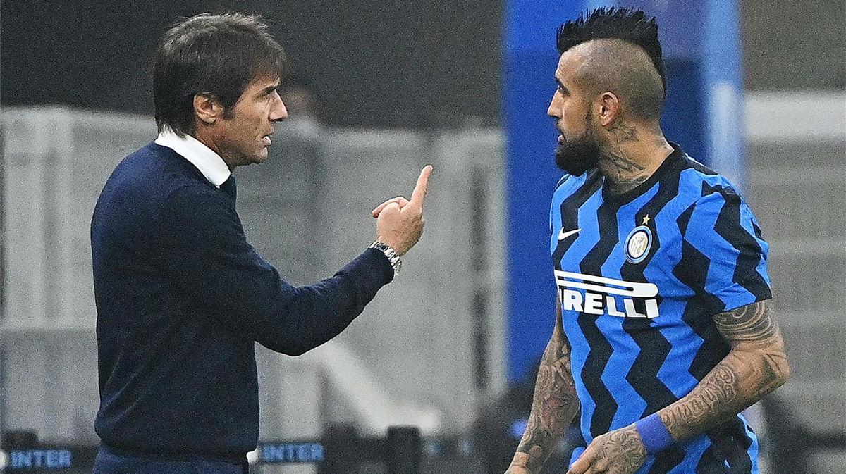 Conte elogia a Vidal