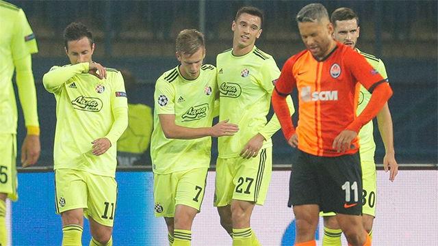 Dani Olmo debuta marcando en Champions