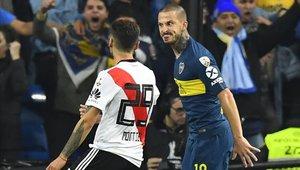 Darío Benedetto fue la figura de Boca Juniors en las etapas finales