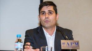 David Aganzo, presidente de la Asociación de Futbolistas Españoles