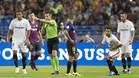 Del Cerro Grande durante la final de la Supercopa de España 2018 Barça-Sevilla