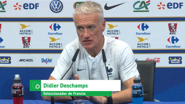 Deschamps descarta una lesión grave de Dembélé