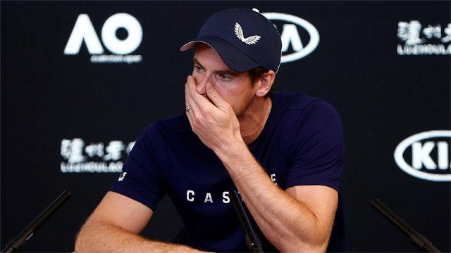 El desconsuelo de Murray al anunciar su retirada del tenis