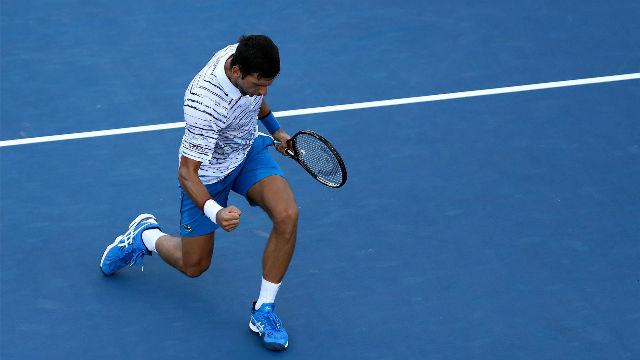 Djokovic supera a Querrey en dos sets