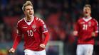 Eriksen lidera la lista de Dinamarca