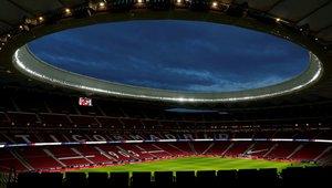 El Estadio Metropolitano se prepara para la final de la UEFA Champions League