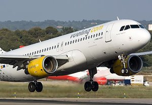 Evacuación en un avión de Vueling en el Aeropuerto del Prat