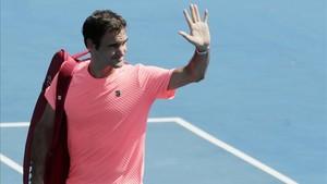 Federer es el tercer tenista más veterano en disputar la final de Melbourne.