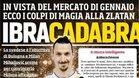 El futuro de Zlatan Ibrahimovic apunta a Italia