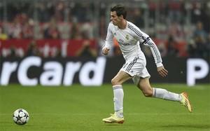 Gareth Bale en acción durante un partido del Real Madrid