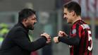 Gattuso felicita a Bonaventura por su doblete