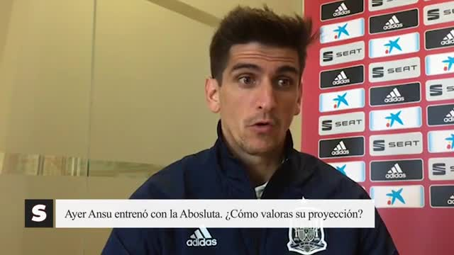 Gerard Moreno: Anfu Fati tiene unas cualidades muy buenas