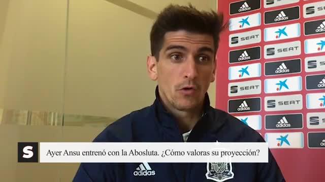 Gerard Moreno: Ansu Fati tiene unas cualidades muy buenas