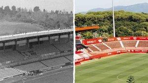 El Girona celebra el 50 aniversario de Montilivi