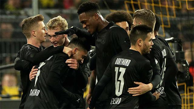 Goleada del Borussia Dortmund al Fortuna Düsseldorf (5-0)