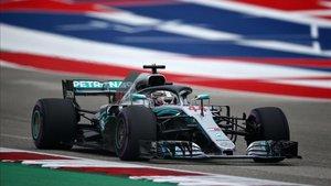Hamilton consigue una nueva pole en Austin