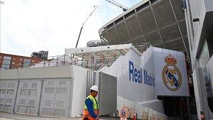 Imagen de archivo de la sobras en el Santiago Bernabéu