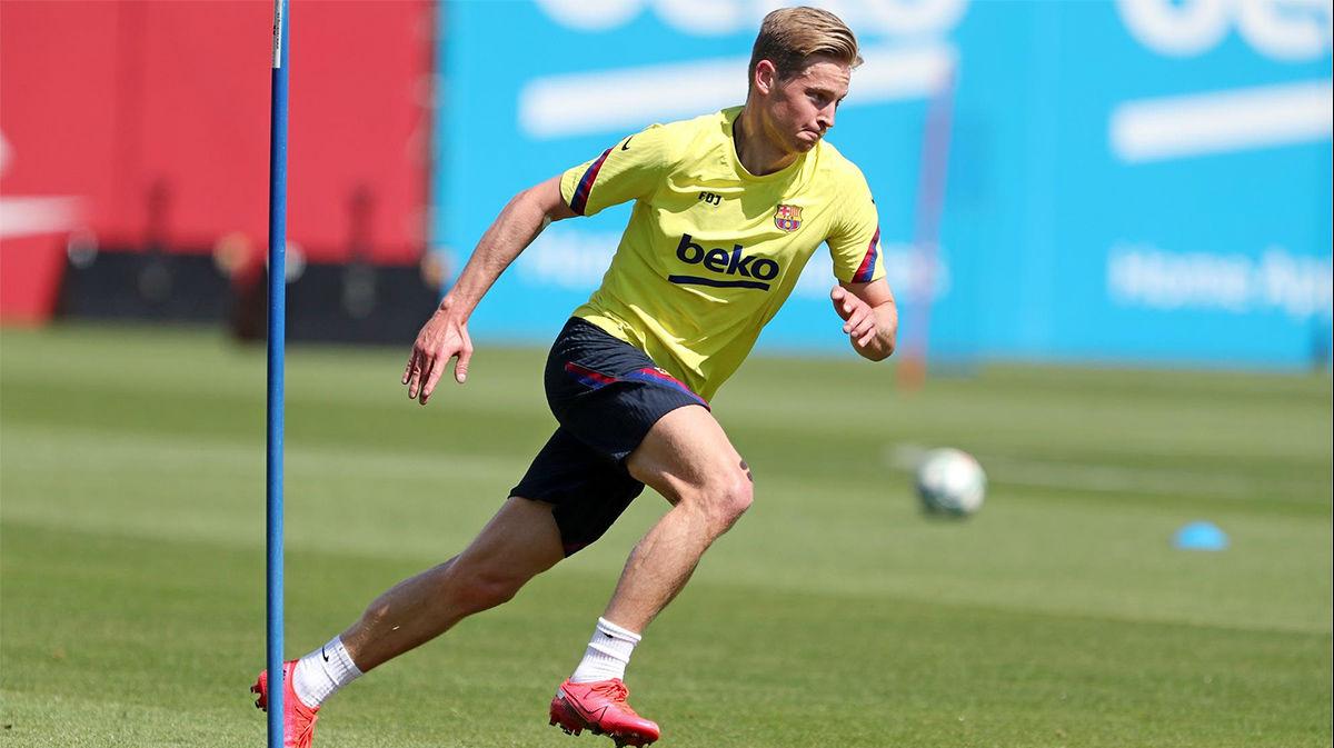 De Jong: Al principio no sentía que el Barça me quisiera de verdad