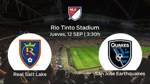 Jornada 35 de la Major League Soccer: previa del duelo Real Salt Lake - San Jose Earthquakes