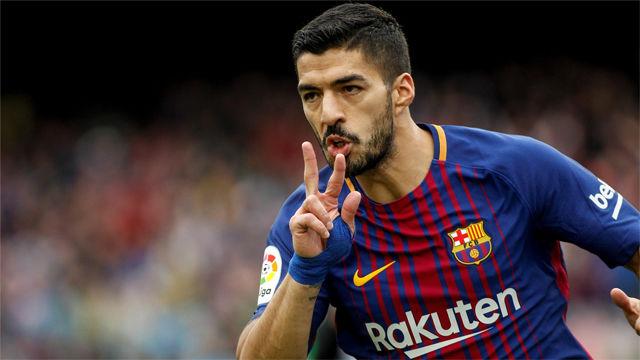 LALIGA | FC Barcelona - Valencia (2-1): El gol de Luis Suárez
