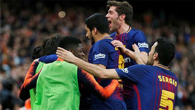 LALIGA FCB   FC Barcelona - Atlético Madrid (1-0)